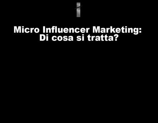 micro influencer marketing