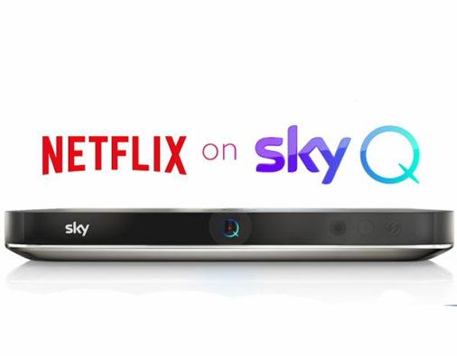 Netflix Arriva su Sky Q! Ecco come Vederlo